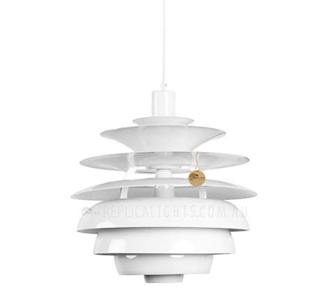 Poul Henningsen Ph Snowball Pendant White  Replica Lights.